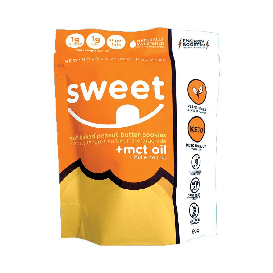 Food & Drink - Sweet Nutrition - Soft Baked Peanut Butter Cookies + MCT Oil