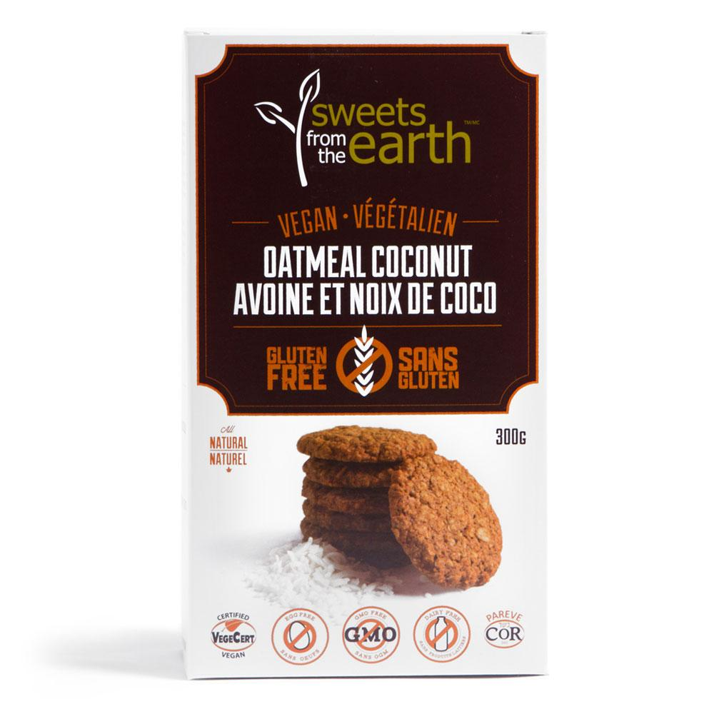 Food & Drink - Sweets From The Earth - Oatmeal Coconut Cookie Box, 300g