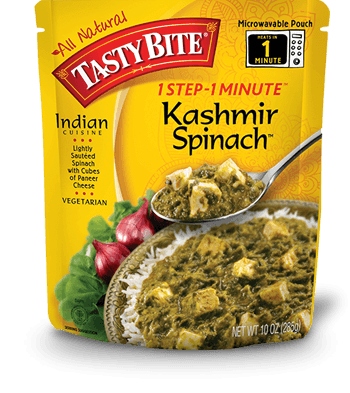Food & Drink - Tasty Bite - Kashmir Spinach, 285g
