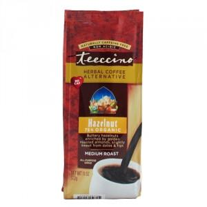 Food & Drink - Teeccino Caffe Inc. - Decaf Hazelnut Coffee, 225g