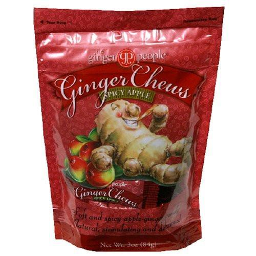Food & Drink - The Ginger People - Ginger Chews Spicy Apple, 84g