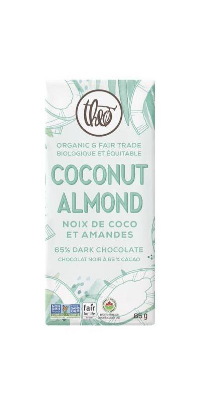 Food & Drink - Theo - Coconut Almond, 85g