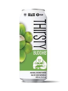 Food & Drink - Thirsty Buddha - All-Natural Coconut Water, 490ml