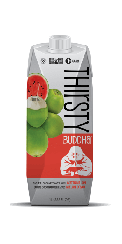 Food & Drink - Thirsty Buddha - All-Natural Coconut Water With Watermelon, 1L
