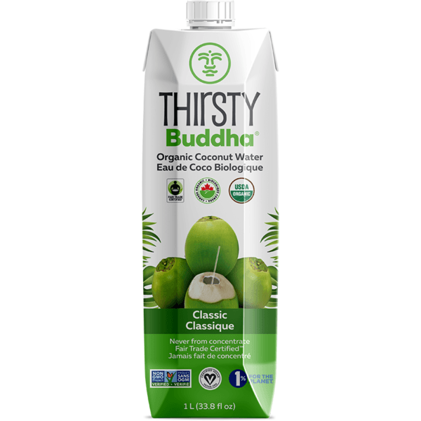 Food & Drink - Thirsty Buddha - Organic Coconut Water, 500mL