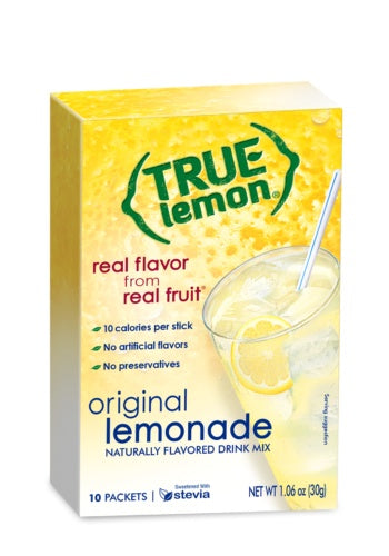 Food & Drink - True Lemon - True Original Lemonade - 10 Sachets