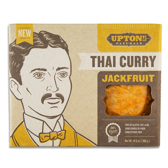 Food & Drink - Upton's Naturals - Jackfruit Thai Curry, 200g
