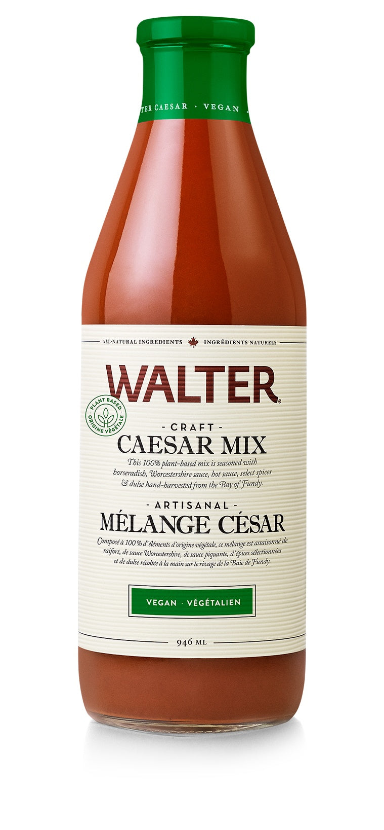 Food & Drink - Walter - Caesar Mix - Vegan, 946ml
