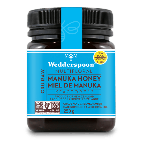 Food & Drink - Wedderspoon - Manuka Honey Active 12+, 250g