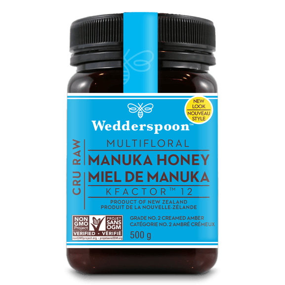 Food & Drink - Wedderspoon - Manuka Honey Active 12+, 500g