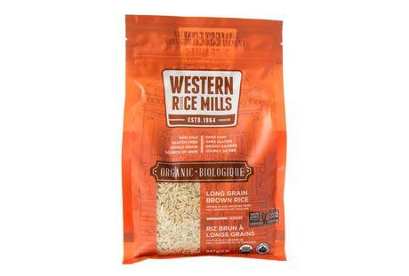 Food & Drink - Western Rice Mills - Organic Long Grain Brown Rice, 907g