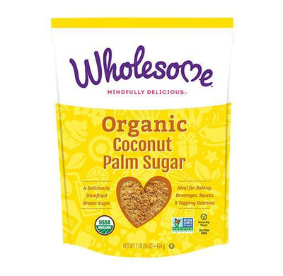Food & Drink - Wholesome Sweeteners - Coconut Palm Sugar, 454g
