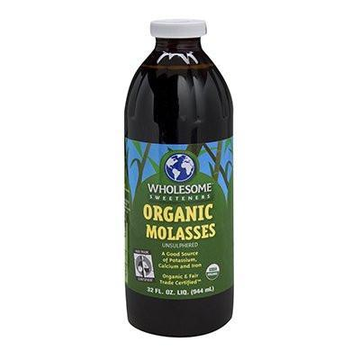 Food & Drink - Wholesome Sweeteners - Organic Blackstrap Molasses, 944ml
