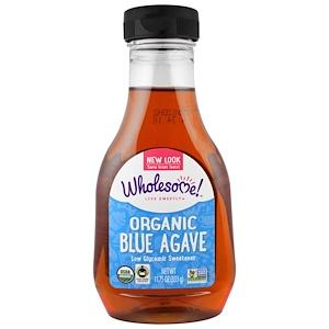 Food & Drink - Wholesome Sweeteners Organic Blue Agave 333g