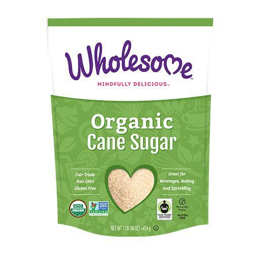 Food & Drink - Wholesome Sweeteners - Organic Sugar FT, 454g
