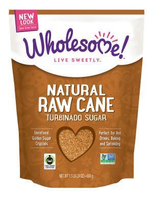 Food & Drink - Wholesome Sweeteners - Raw Cane Sugar FT, 681g
