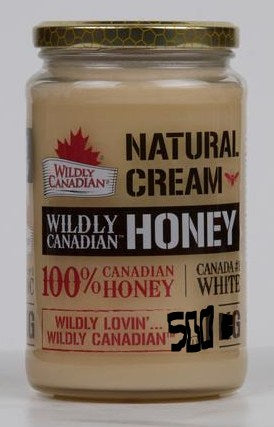 Food & Drink - Wildly Canadian - Natural Creamed Honey, 500g