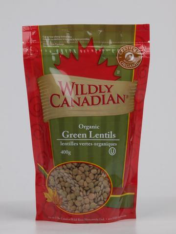 Food & Drink - Wildly Canadian - Organic Green Lentils, 400g