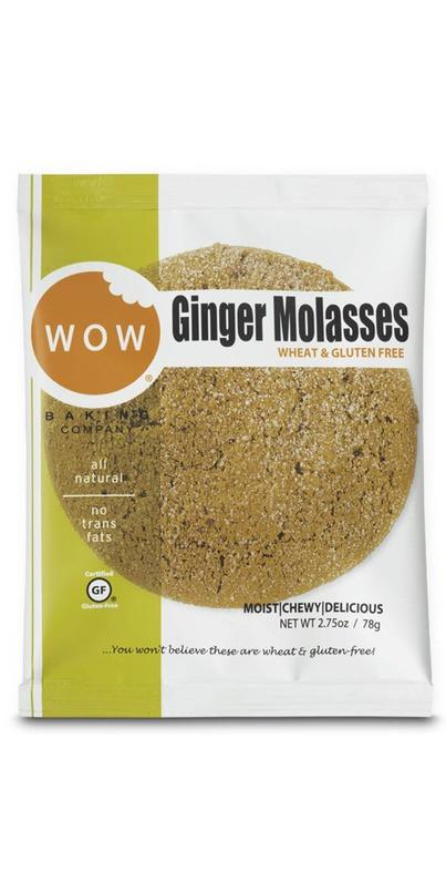 Food & Drink - Wow Baking Company - Ginger Molasses Cookie - 78g