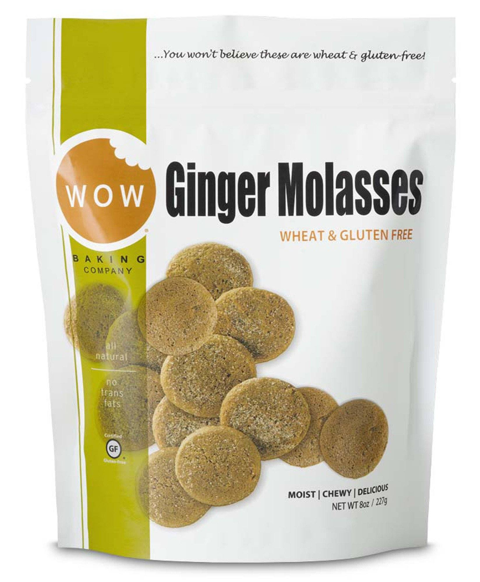 Food & Drink - WOW Baking Company - Ginger Molasses Cookies, 227g