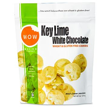 Food & Drink - Wow Baking Company - Key Lime White Chocolate Cookies, 227g