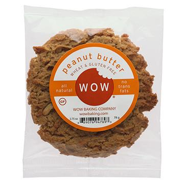 Food & Drink - Wow Baking Company - Peanut Butter Cookie - 78g