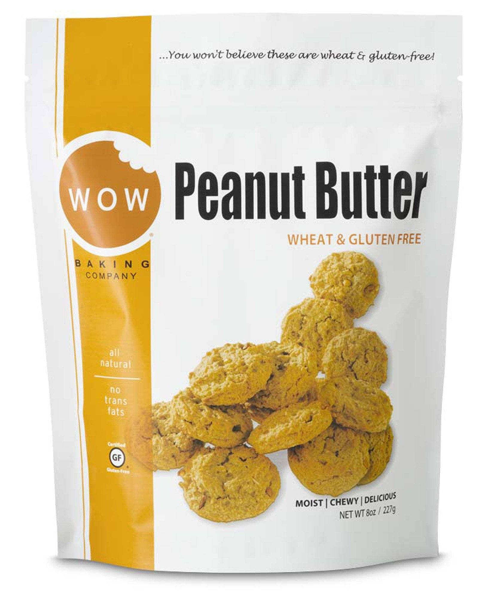 Food & Drink - WOW Baking Company - Peanut Butter Cookies, 227g
