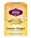 Food & Drink - Yogi -  Lemon Ginger Tea , 16 Bags