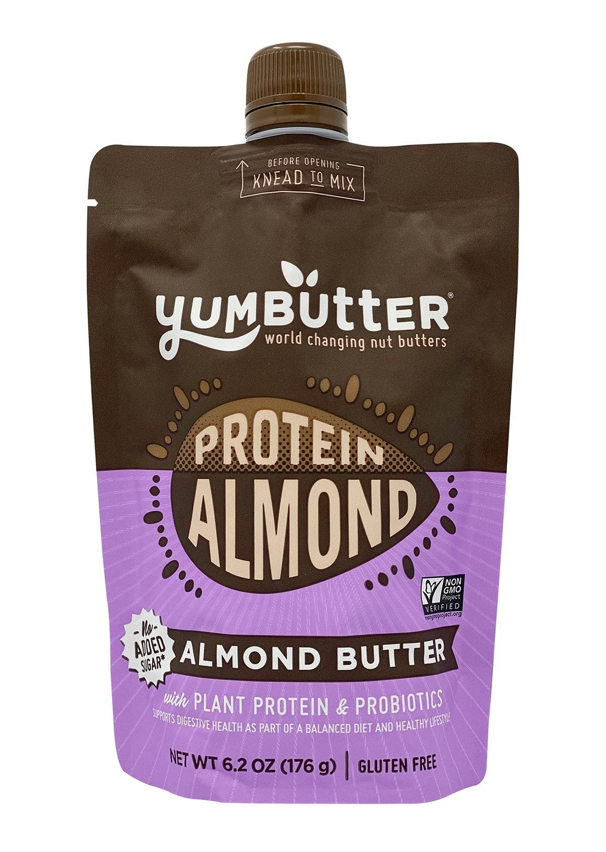 Food & Drink - Yum Butter - Almond Butter With Probiotics & Plant Protein, 176g