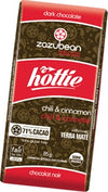 Food & Drink - Zazubean Organic Chocolate - Hottie Chili & Cinnamon, 100g