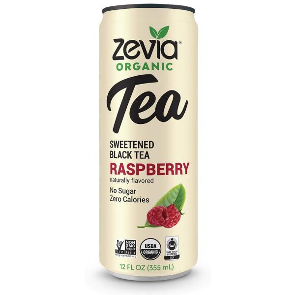Food & Drink - Zevia - Black Tea Raspberry, 355ml