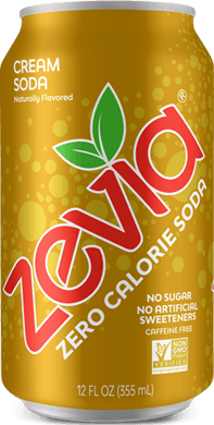 Food & Drink - Zevia - Cream Soda, 354mL