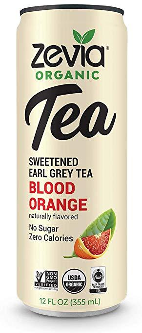 Food & Drink - Zevia - Earl Grey Blood Orange Tea, 355ml