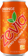 Food & Drink - Zevia - Orange, 354mL