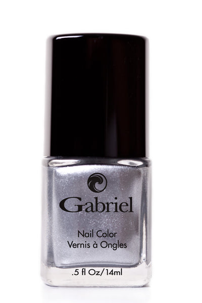 Gabriel - Nail Polish - Liquid Silver - Goodness Me!