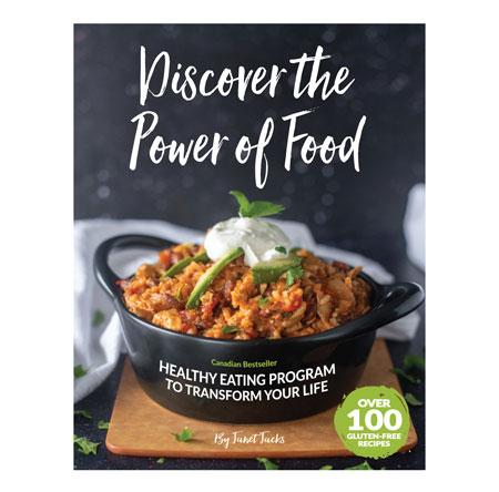 DISCOVER THE POWER OF FOOD 2ND EDITION BOOK- BY JANET JACKS