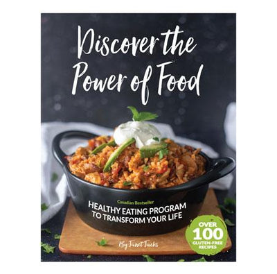Healthy Lifestyles - DISCOVER THE POWER OF FOOD 2ND EDITION BOOK- BY JANET JACKS