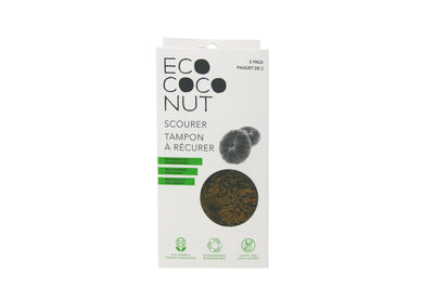 Healthy Lifestyles - EcoCoconut - Twin Pack Scourers, 2 Pack
