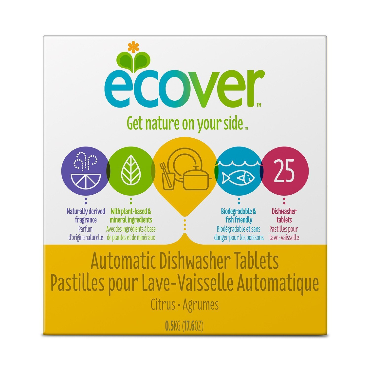 Healthy Lifestyles - Ecover - Automatic Dishwasher Tablets, 500g