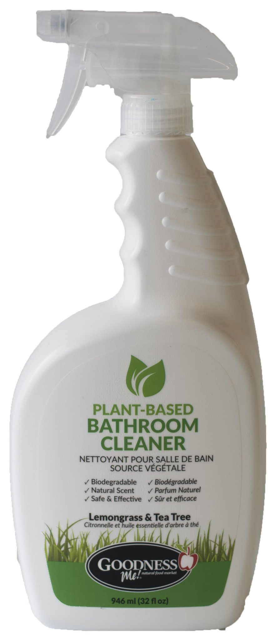 Healthy Lifestyles - Goodness Me! -Bathroom Cleaner Lemongrass & Tea Tree, 946 Ml