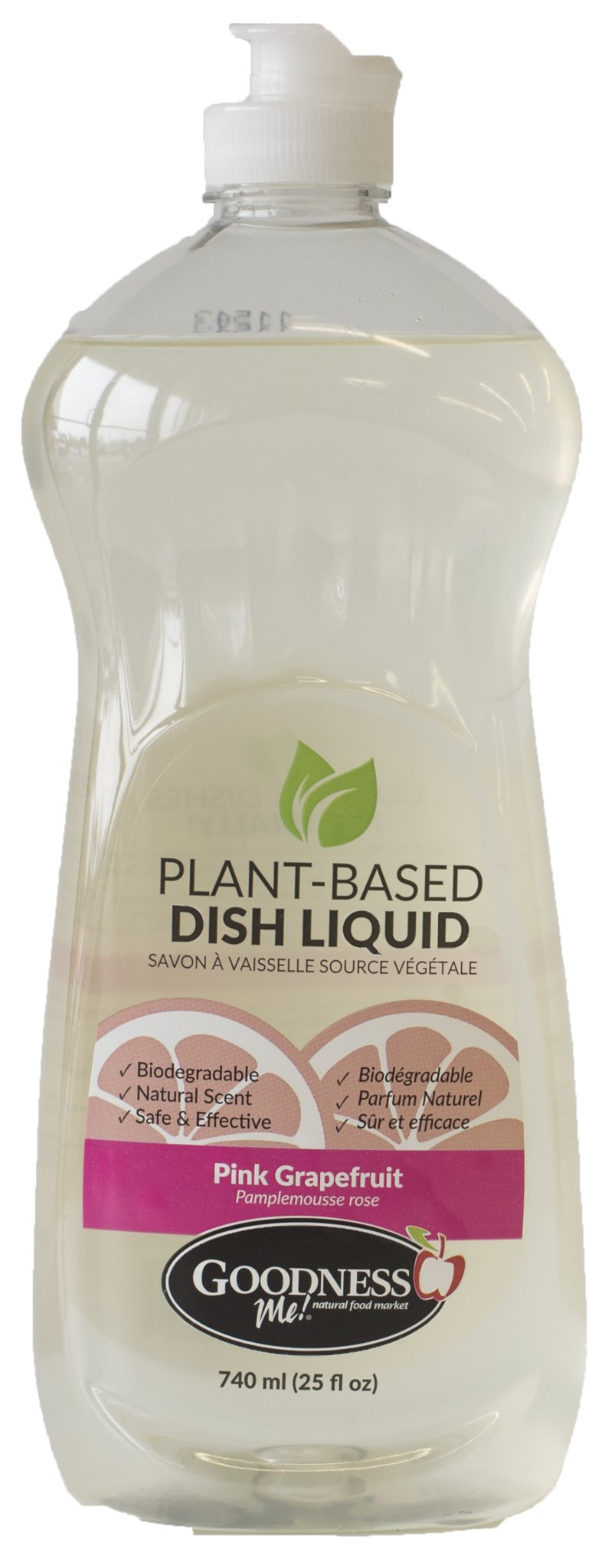 Healthy Lifestyles - Goodness Me! - Dish Soap Pink Grapefruit - 740ml
