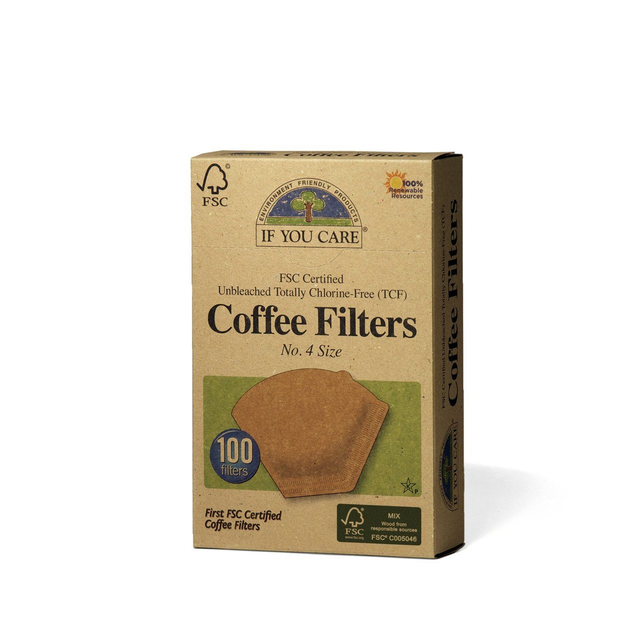 Healthy Lifestyles - If You Care - Enviro Friendly - Coffee Filters - No. 4