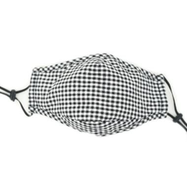 Healthy Lifestyles - Keep Leaf - Face Mask, Plaid Cotton