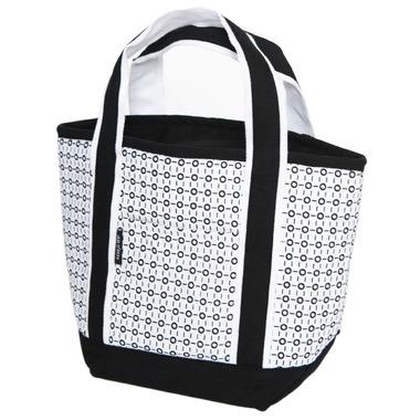 Healthy Lifestyles - Keep Leaf - Insulated Lunch Tote (black/white)