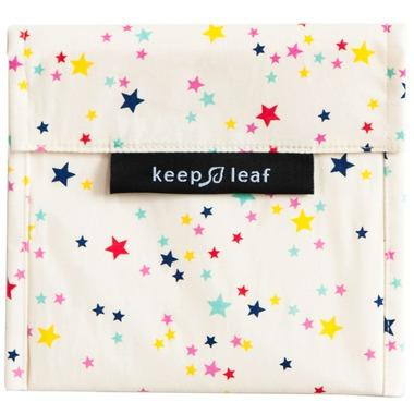 Healthy Lifestyles - Keep Leaf - Reusable Baggie (large, Stars)