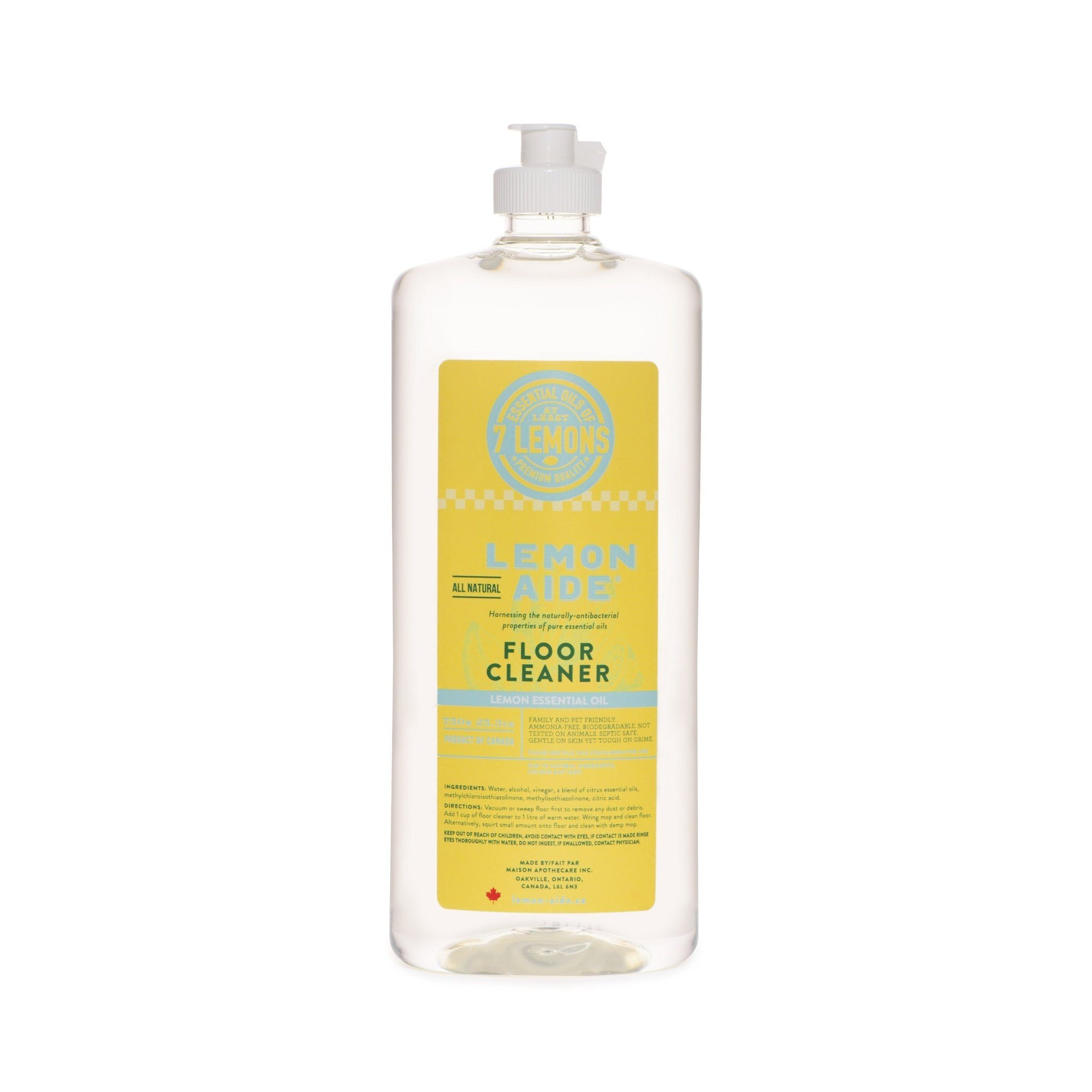 Healthy Lifestyles - Lemon Aide - Lemon Floor Cleaner, 750ml
