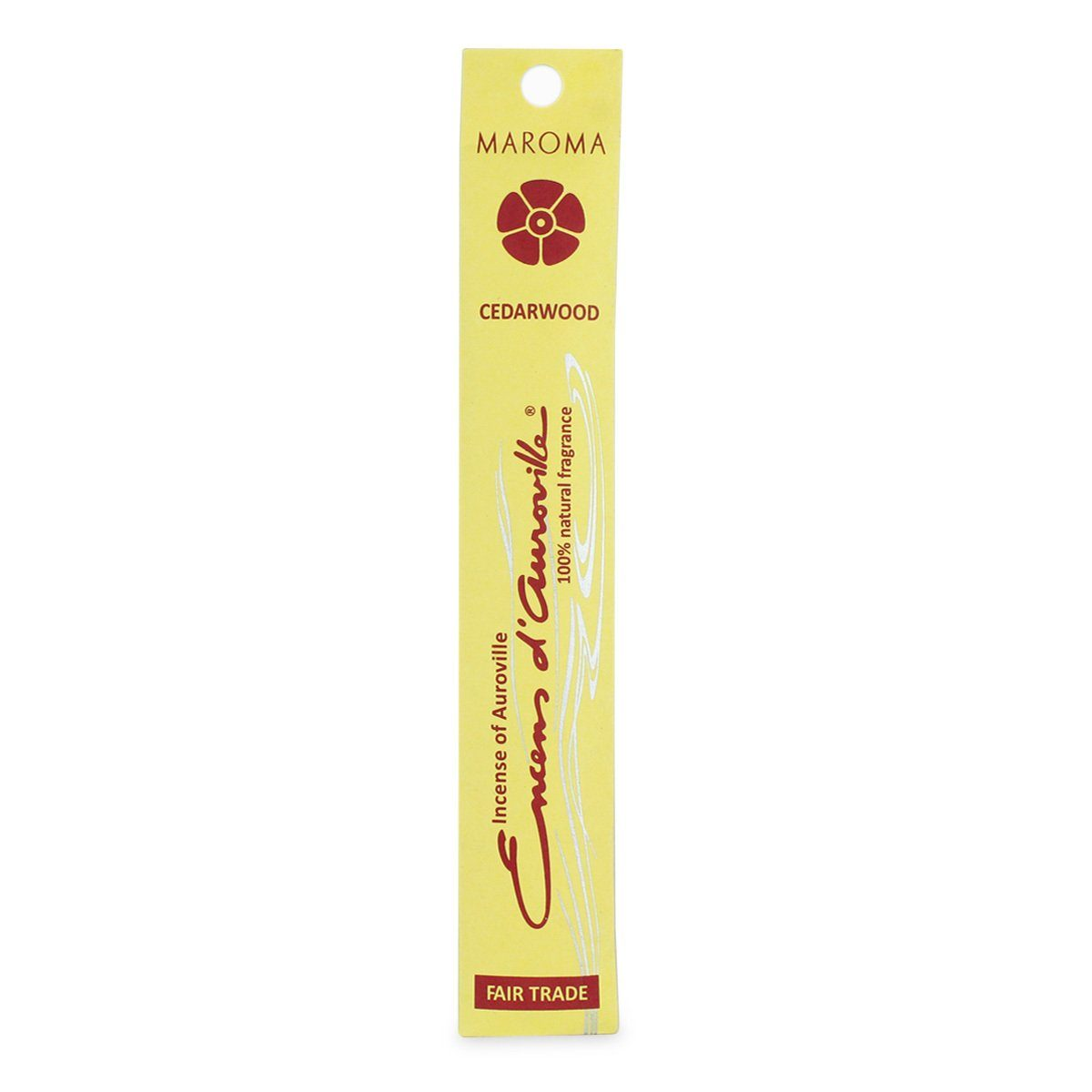 Healthy Lifestyles - Maroma - Cedarwood Incense Sticks, 10 Sticks