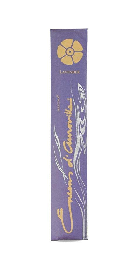 Healthy Lifestyles - Maroma - Lavender Incense Sticks, 10 Sticks