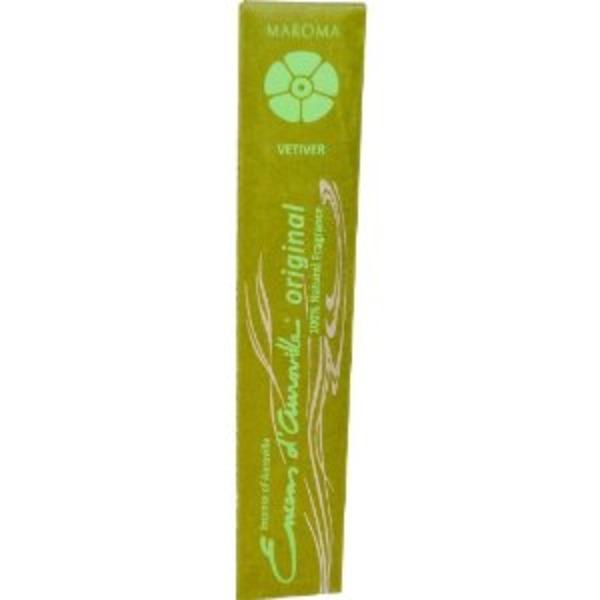 Healthy Lifestyles - Maroma - Vetiver Incense Sticks, 10 Sticks