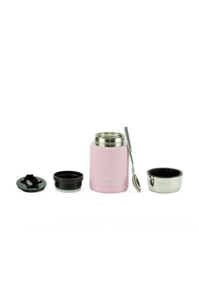 Healthy Lifestyles - Minimal - Insulated Food Jar (rose, 17oz)